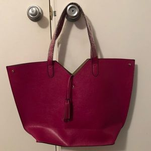 MWOT Neiman Marcus Large Magenta Tote Bag
